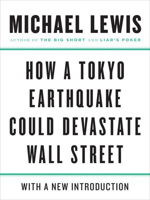 cover image of How a Tokyo Earthquake Could Devastate Wall Street
