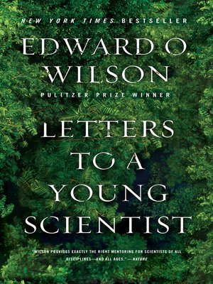 cover image of Letters to a Young Scientist