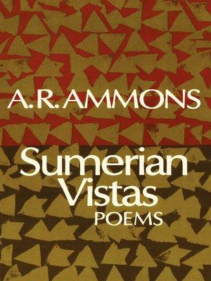 cover image of Sumerian Vistas