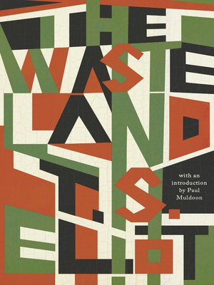 cover image of The Waste Land (Liveright Classics)
