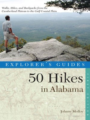 cover image of Explorer's Guide 50 Hikes in Alabama