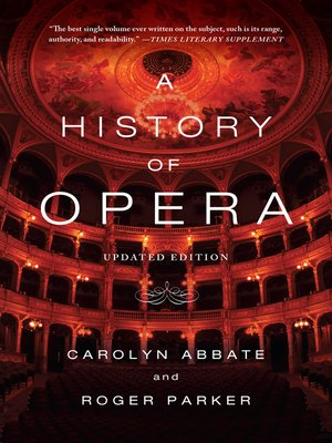 cover image of A History of Opera