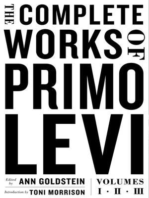 cover image of The Complete Works of Primo Levi