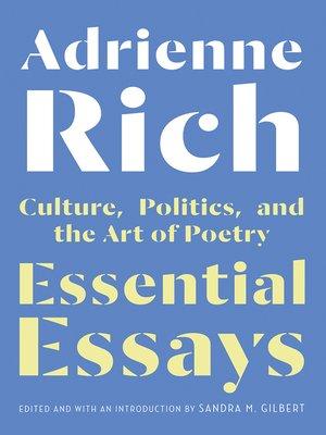 cover image of Essential Essays
