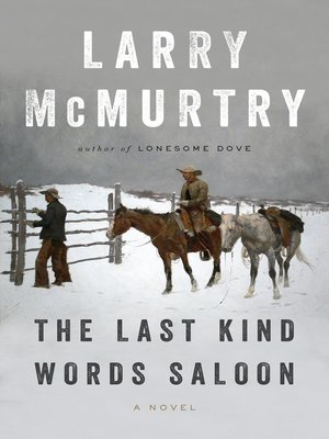 cover image of The Last Kind Words Saloon