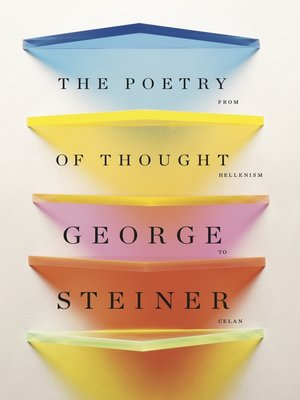 cover image of The Poetry of Thought