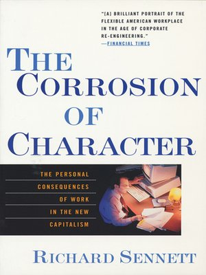 cover image of The Corrosion of Character