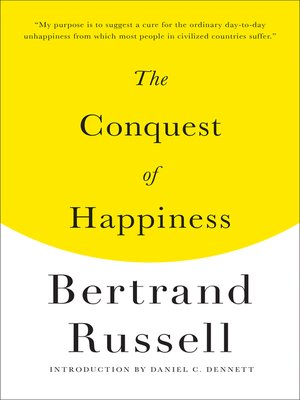 cover image of The Conquest of Happiness