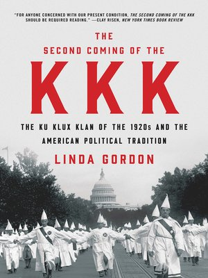cover image of The Second Coming of the KKK