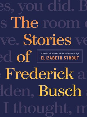 cover image of The Stories of Frederick Busch