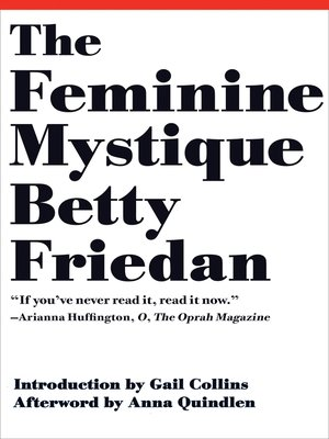 cover image of The Feminine Mystique (50th Anniversary Edition)