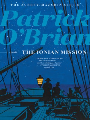 cover image of The Ionian Mission (Volume Book 8)  (Aubrey/Maturin Novels)