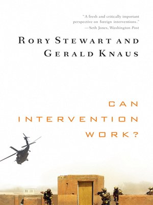 cover image of Can Intervention Work? (Norton Global Ethics Series)