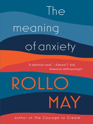 cover image of The Meaning of Anxiety