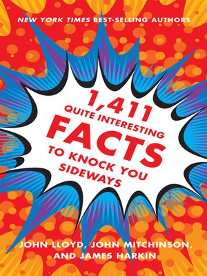cover image of 1,411 Quite Interesting Facts to Knock You Sideways