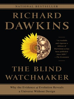 cover image of The Blind Watchmaker