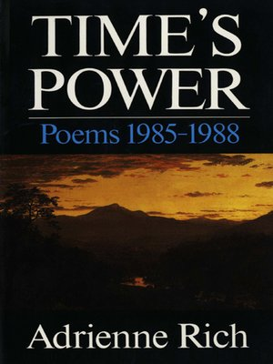cover image of Time's Power