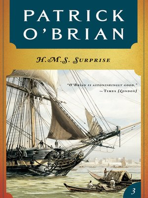 cover image of H. M. S. Surprise (Volume Book 3)  (Aubrey/Maturin Novels)