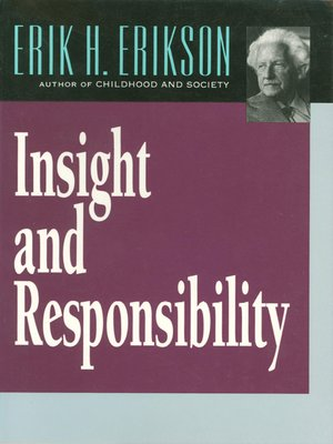 cover image of Insight and Responsibility