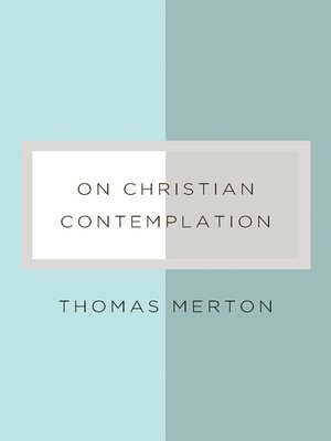 cover image of On Christian Contemplation