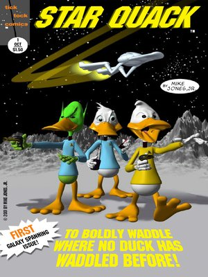 cover image of Star Quack: Issue #1