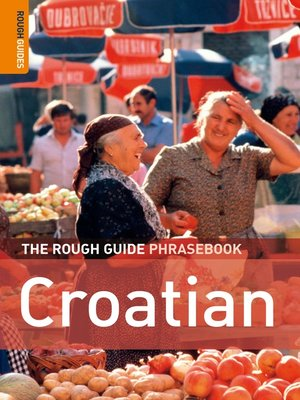 cover image of The Rough Guide Phrasebook Croatian