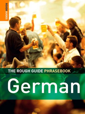 cover image of The Rough Guide Phrasebook German
