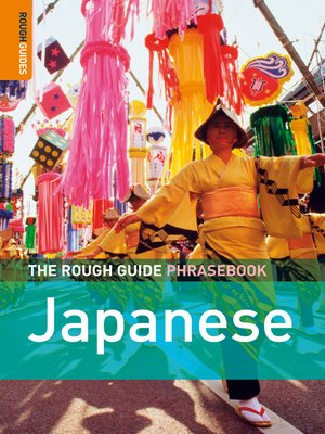 cover image of The Rough Guide Phrasebook Japanese