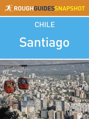 cover image of Santiago Rough Guides Snapshot Chile