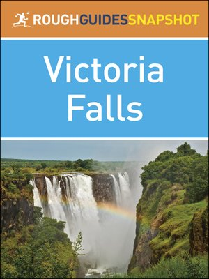 cover image of Rough Guide Snapshot Africa - Victoria Falls