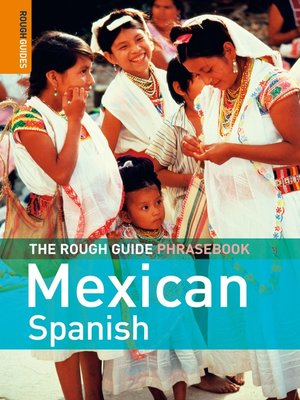 cover image of The Rough Guide Phrasebook Mexican Spanish