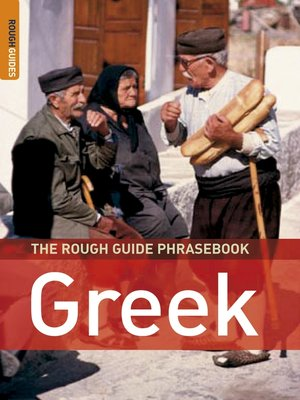 cover image of The Rough Guide Phrasebook Greek