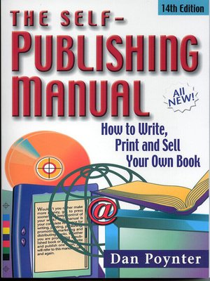 cover image of The Self-Publishing Manual