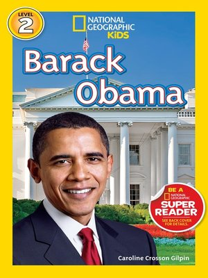 cover image of National Geographic Readers: Barack Obama