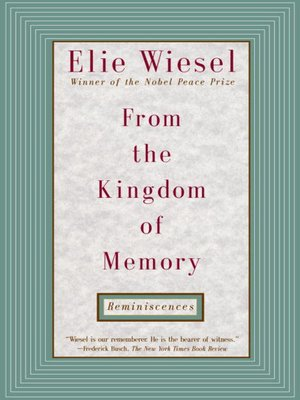 cover image of From the Kingdom of Memory