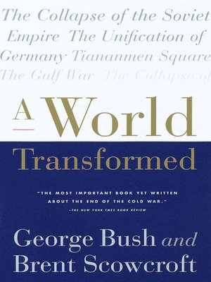 cover image of A World Transformed