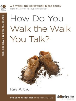cover image of How Do You Walk the Walk You Talk?
