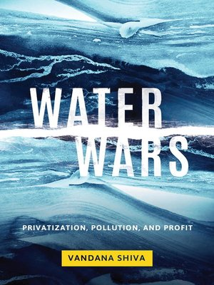 cover image of Water Wars