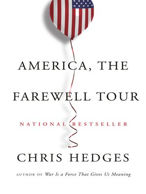 cover image of America, the Farewell Tour