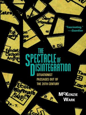 cover image of The Spectacle of Disintegration