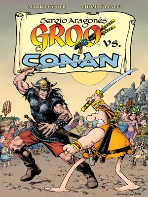cover image of Groo vs. Conan