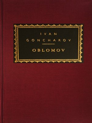 cover image of Oblomov
