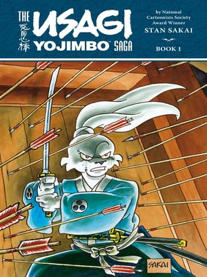 cover image of Usagi Yojimbo Saga, Volume 1