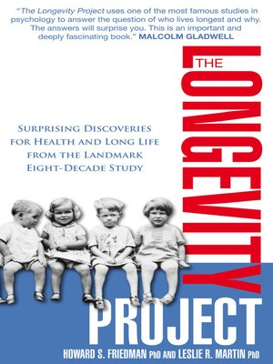 cover image of The Longevity Project