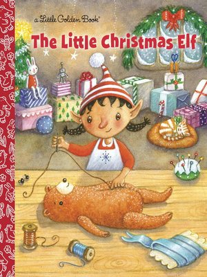 cover image of The Little Christmas Elf