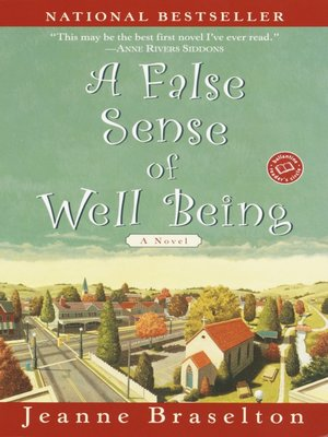 cover image of A False Sense of Well Being