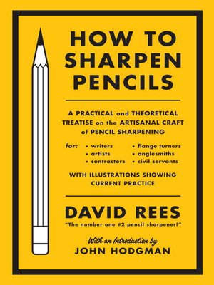 cover image of How to Sharpen Pencils