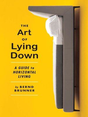 cover image of The Art of Lying Down