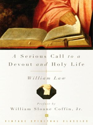 cover image of A Serious Call to a Devout and Holy Life