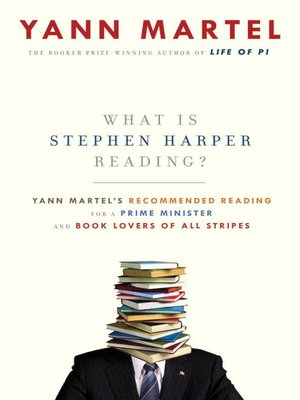 cover image of What Is Stephen Harper Reading?